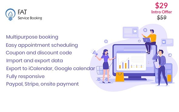 Fat Services Booking v2.16 - Automated Booking and Online Scheduling