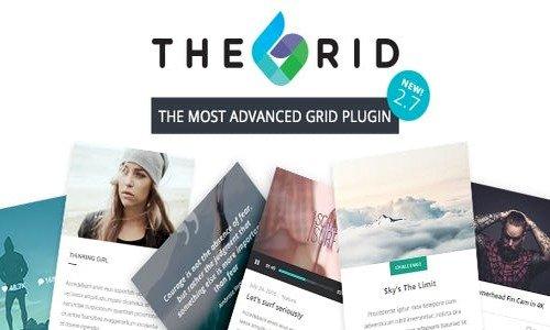 The Grid v2.7.4 - Responsive Wordpress Grid Plugin