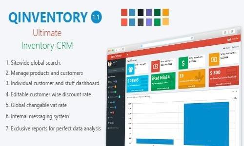 Qinventory CRM v1.2