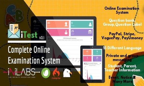 iTest v3.1 - Complete Online Examination System