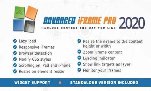 Advanced iFrame Pro v2020