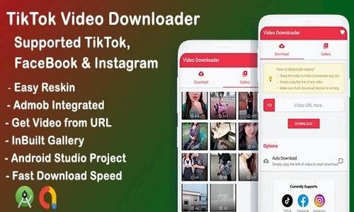 Tiktok, Facebook, Instagram video downloader v1.0