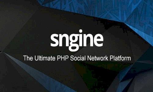 Sngine v2.7.0 - The Ultimate PHP Social Network Platform - nulled