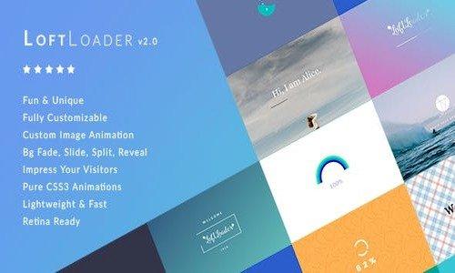 LoftLoader Pro v2.2 - Preloader Plugin for WordPress