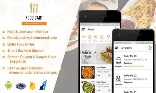 Food Cart v1.0 - Online Food Delivery App