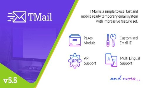 TMail v5.5 - Multi Domain Temporary Email System - nulled
