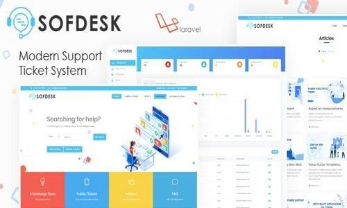 SofDesk v1.4 - Support Ticket and Knowledge base script