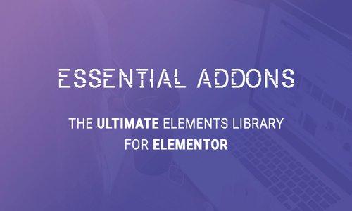 Essential Addons for Elementor v3.6.0