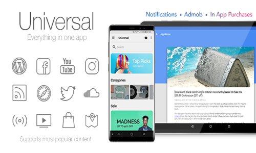 Universal v4.4.1 - Full Multi-Purpose Android App