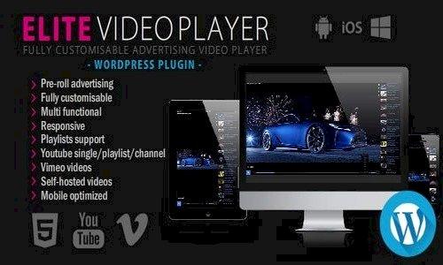 Elite Video Player v5.8 - WordPress plugin