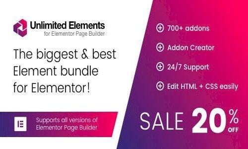 Unlimited Elements for Elementor Page Builder v1.4.28